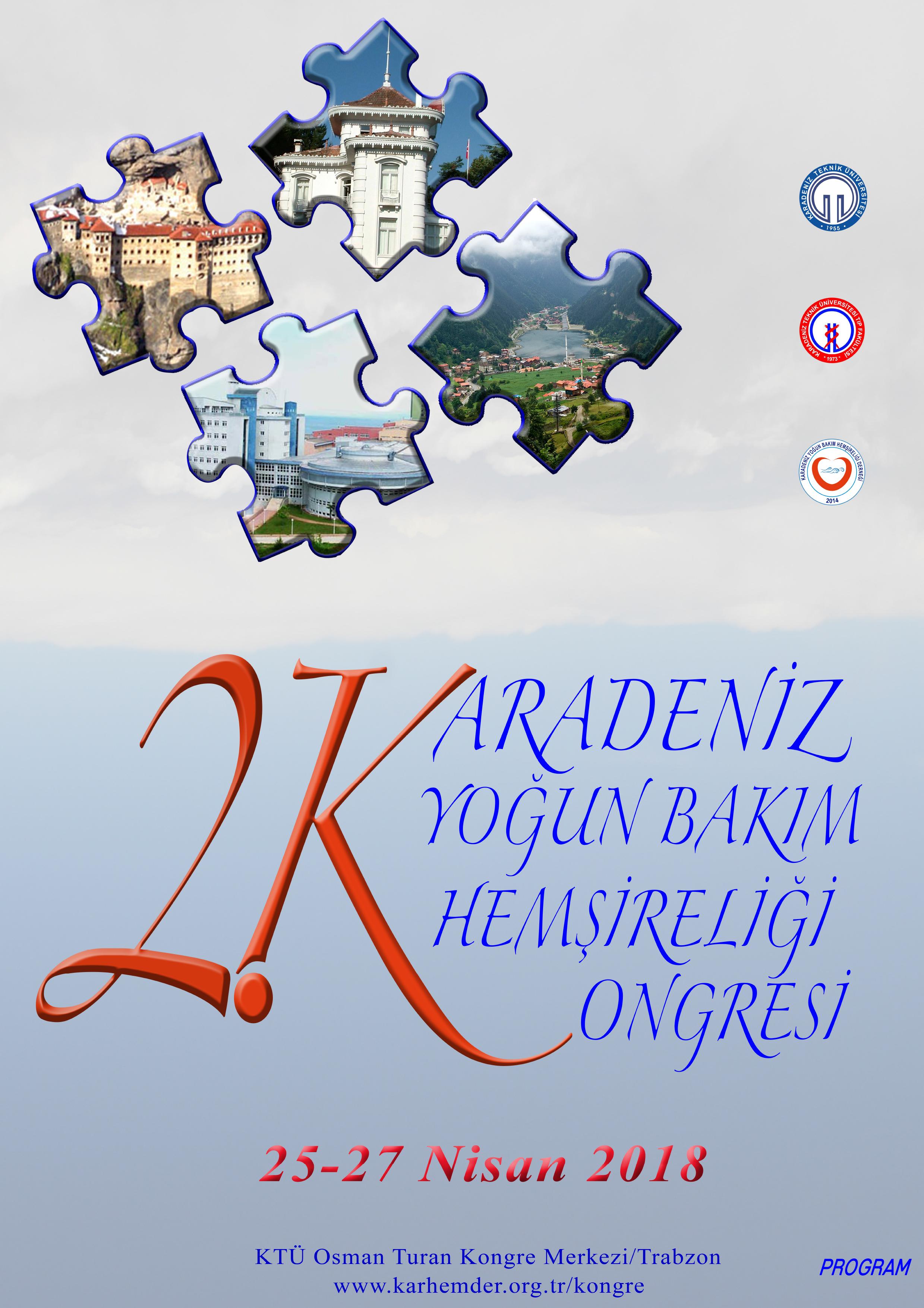 2.Karadeniz Yoðun Bakým Hemþireliði Kongresi