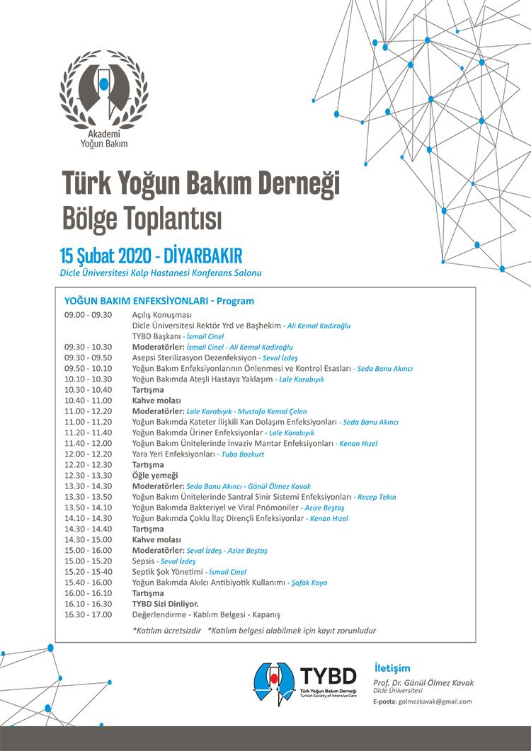 Diyarbakýr Bölge Toplantýsý / Yoðun Bakým Enfeksiyonlarý